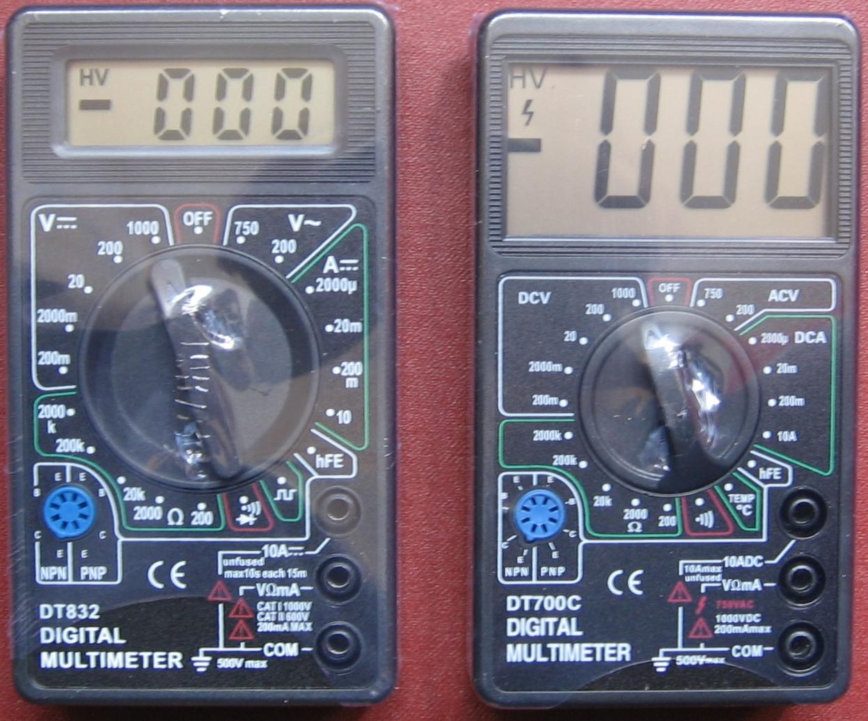 инструкция до мультметра дт 9205а