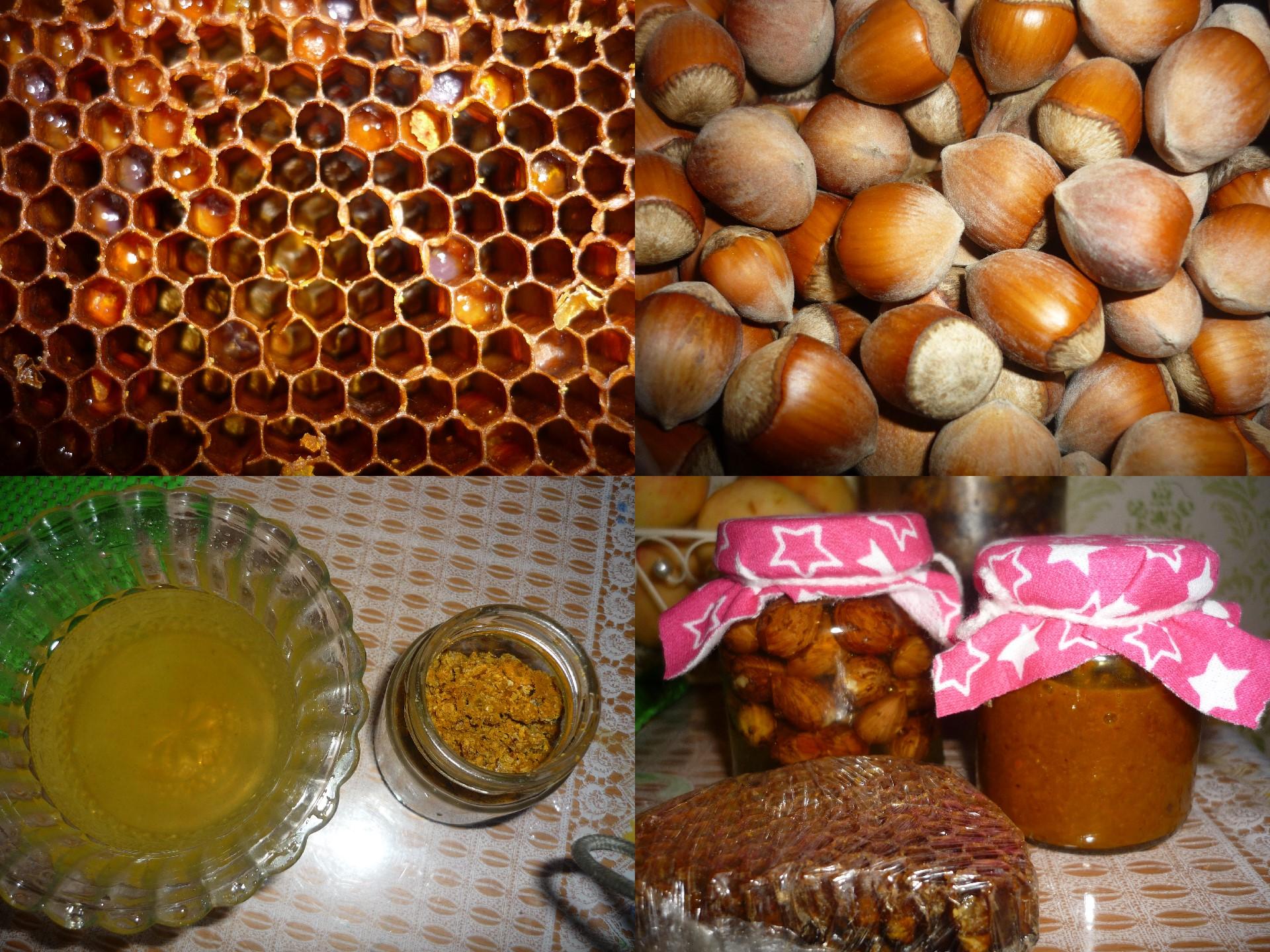 медово перговая паста