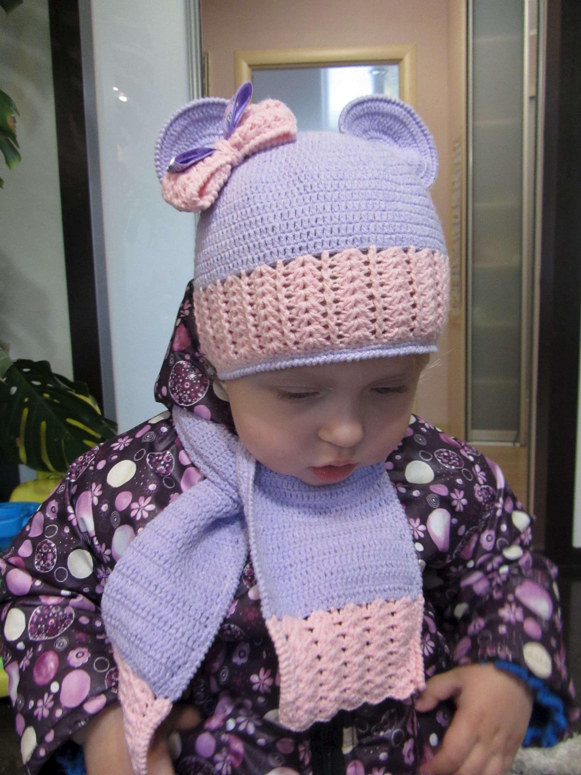 Вязание крючком кисточек для шапочек