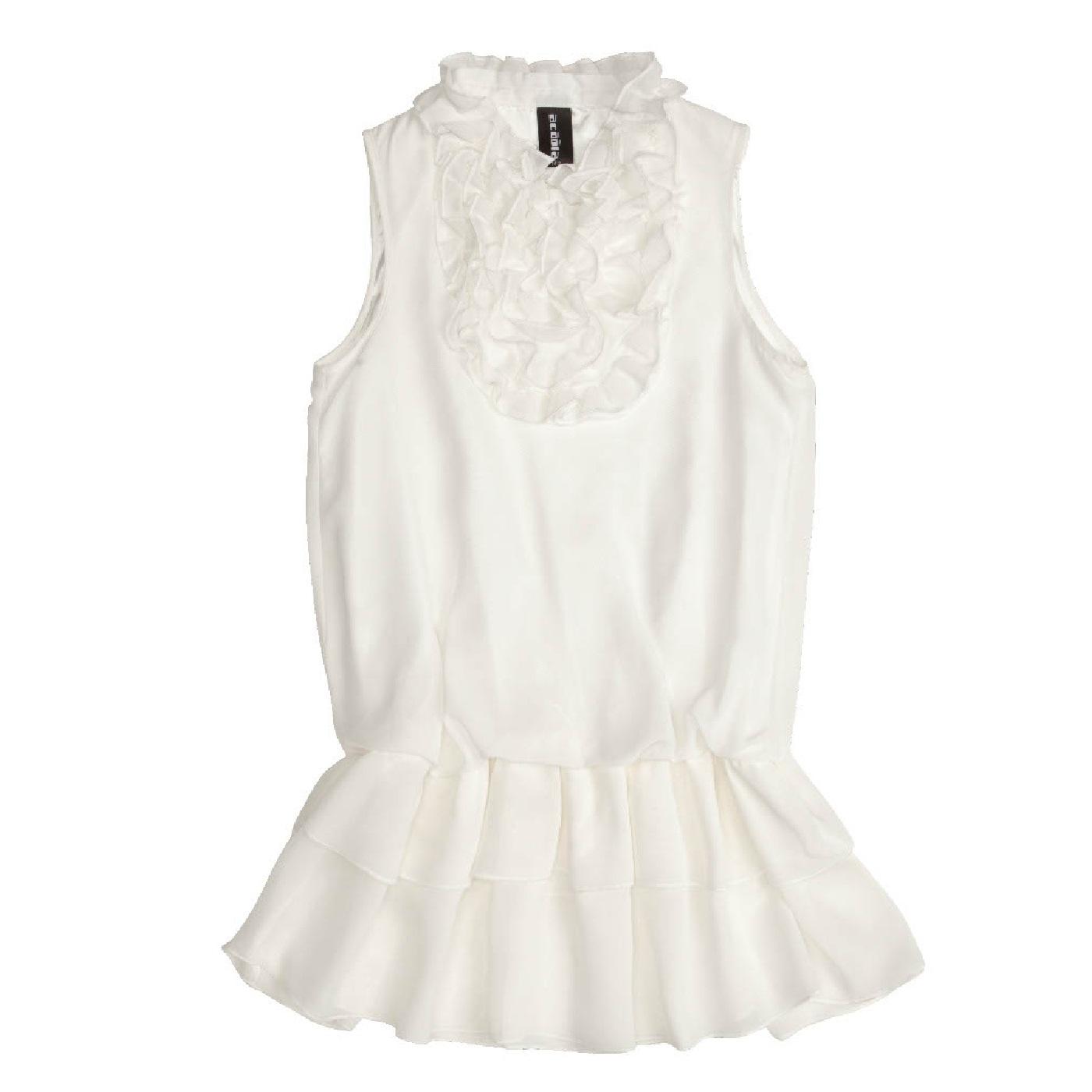 Белая Блузка Для Девочки Купить