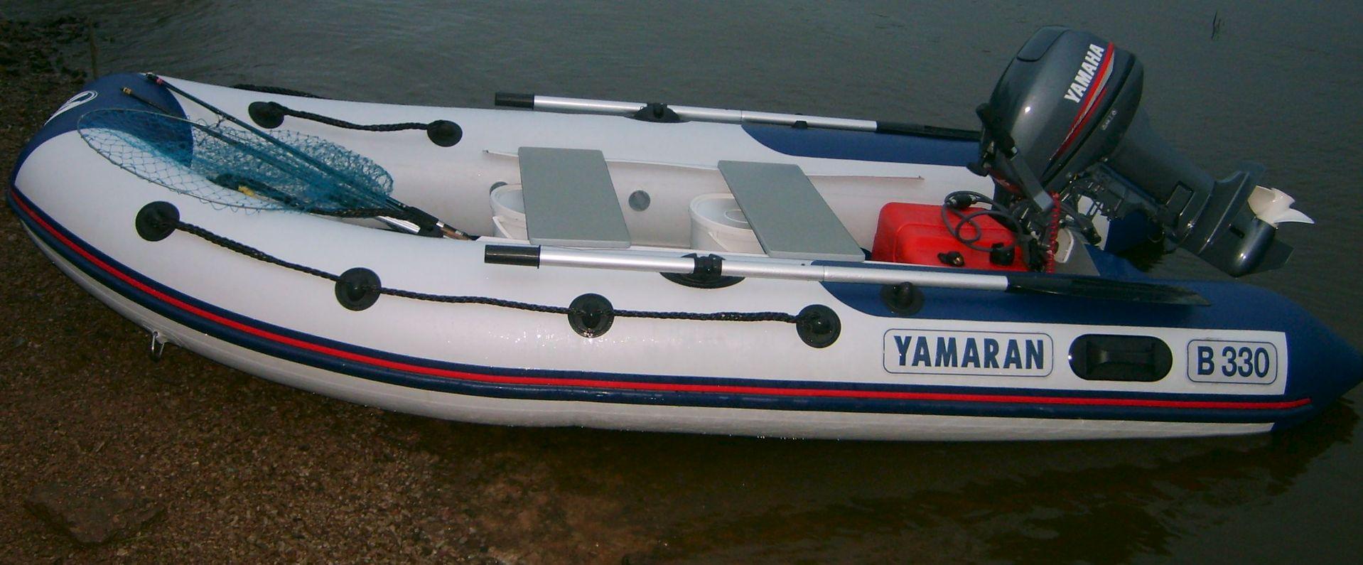 тюнинг на лодку пвх ямаран