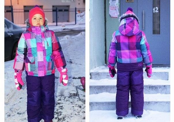 Детская Зимняя Одежда Нано