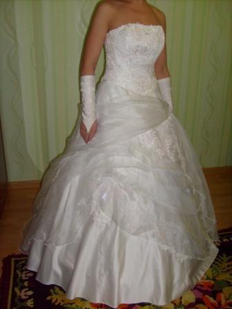 Прикрепленный Шлейф Для Свадебного Платья