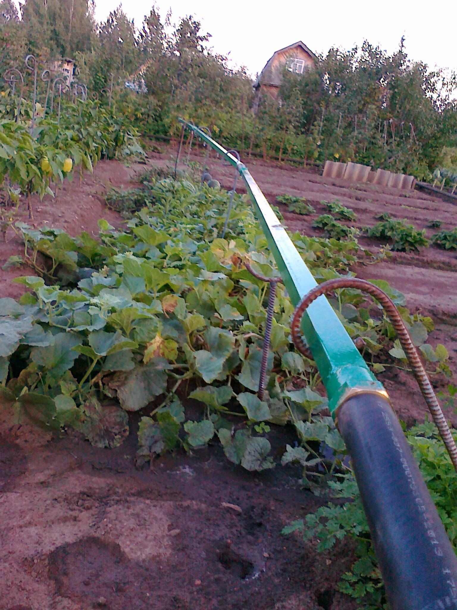 Система полива огорода своими руками фото с описанием не сложные