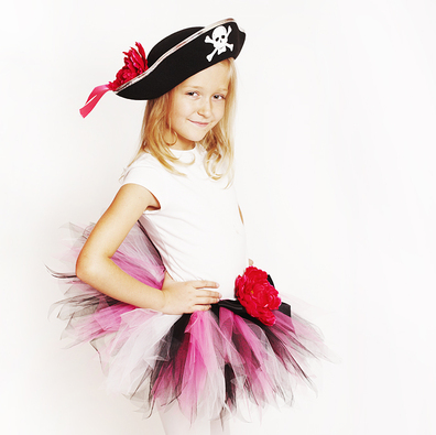 Юбка пиратки своими руками для девочки
