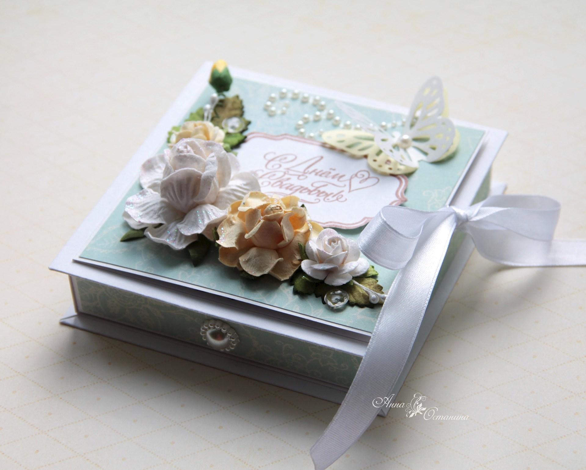 Как сделать коробочку для денег на день рождения своими руками фото