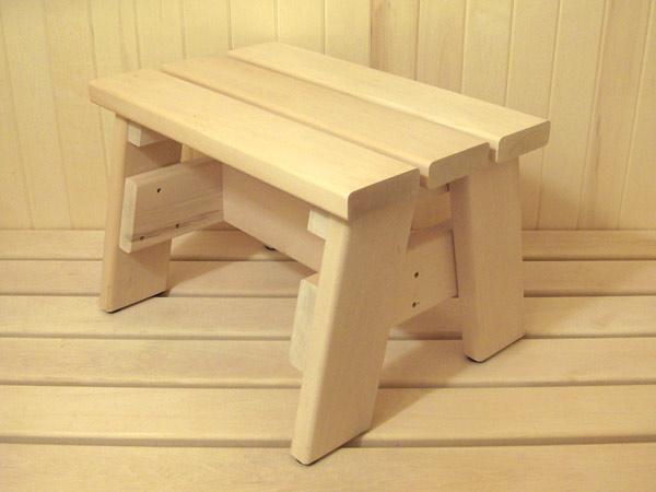 Изготовление скамейки для бани своими руками 64