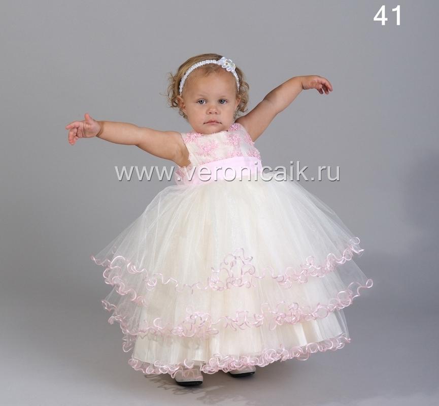 Детские бальные платья для девочек 10
