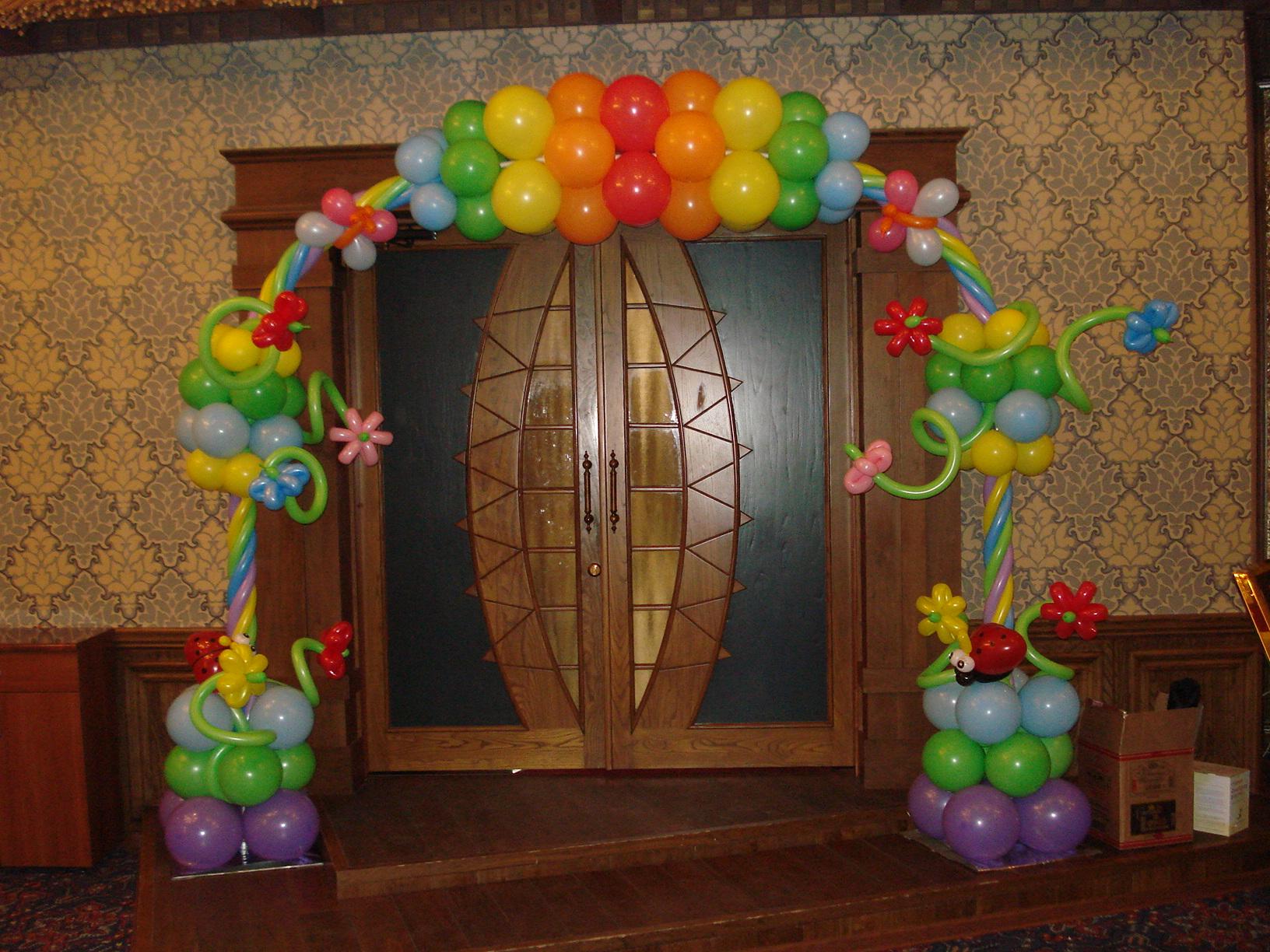 Как из шаров сделать арку
