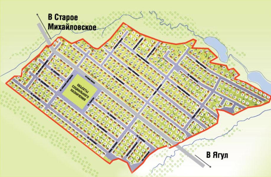 Старомихайловское Ижевск Карта