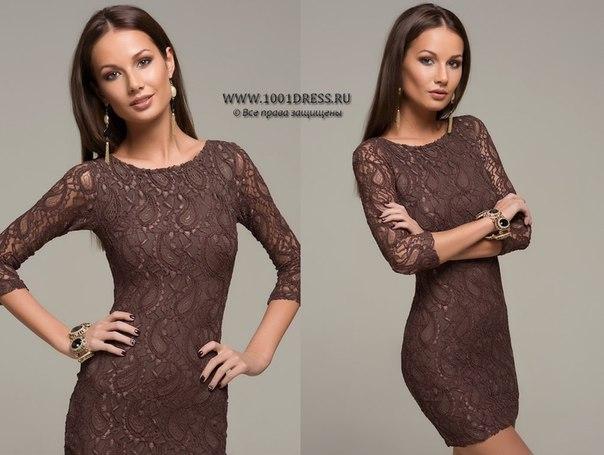 коричневое платье с чем носить фото