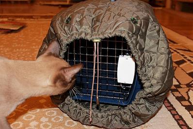 Как сшить переноску для кошки фото