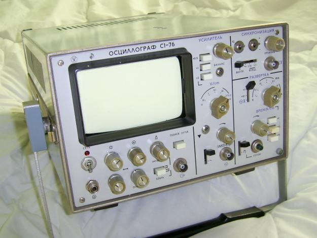 схема осциллографа С1 -57