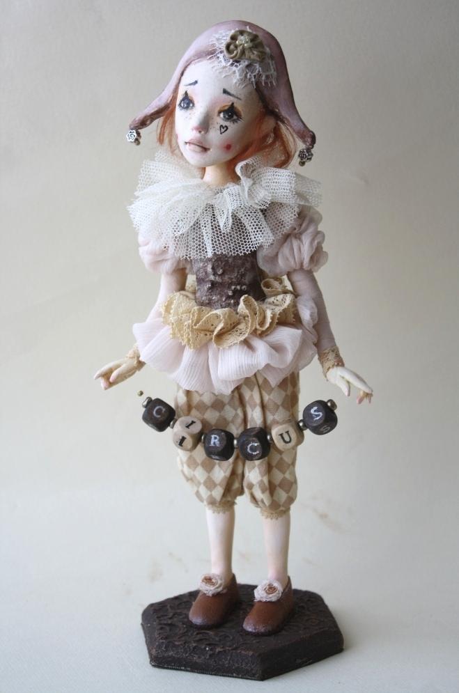Куклы в смешанной технике