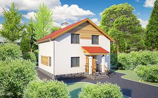 1920 X 1200 757.3 Kb Проекты уютных загородных домов