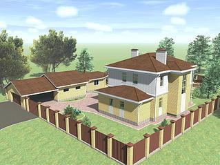 1920 X 1439 390.9 Kb Проекты уютных загородных домов