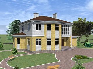 1920 X 1439 443.0 Kb Проекты уютных загородных домов