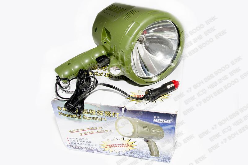 1500 X 1000 606.5 Kb Ручной галогенный прожектор от прикуривателя SUNCA CS-209D 100W за 1800 руб продам