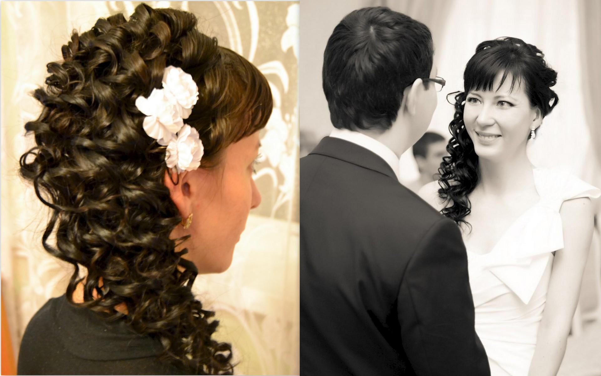 Фото причесок на длинные волосы на свадьбу с плетением