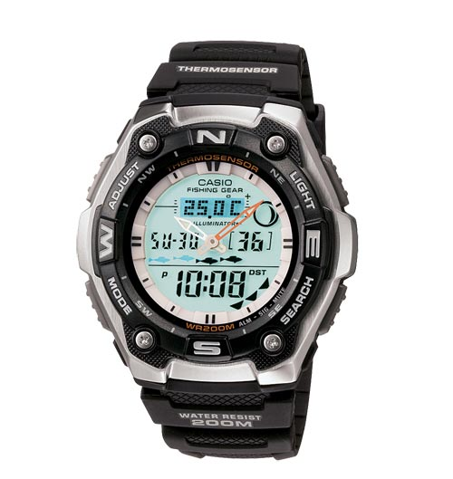 500 x 529 Часы CASIO DW290-1V водонепронецаемые 200 (ДВЕСТИ!) метров дайвинг рыбалка охота ФОТО