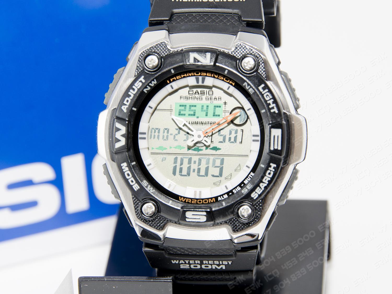 купить часы для рыбалки касио