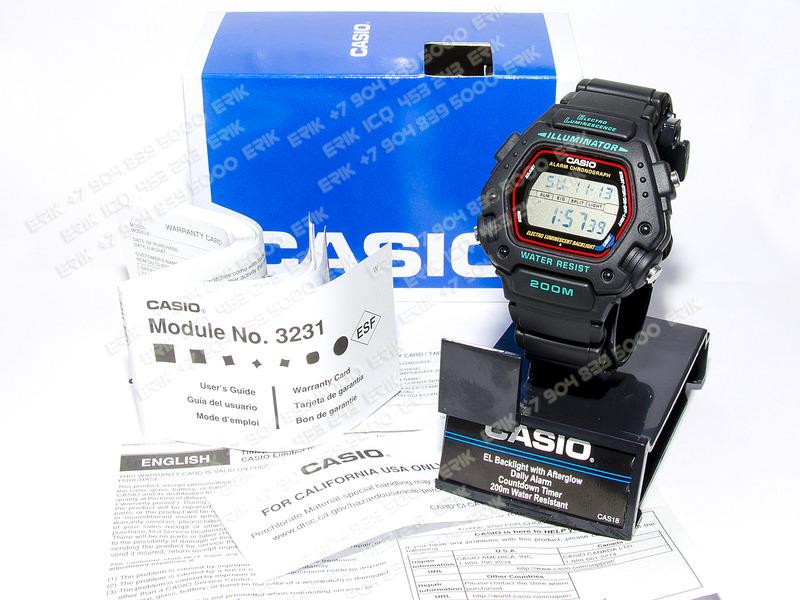 1500 X 1125 968.7 Kb Часы CASIO DW290-1V водонепронецаемые 200 (ДВЕСТИ!) метров дайвинг рыбалка охота ФОТО