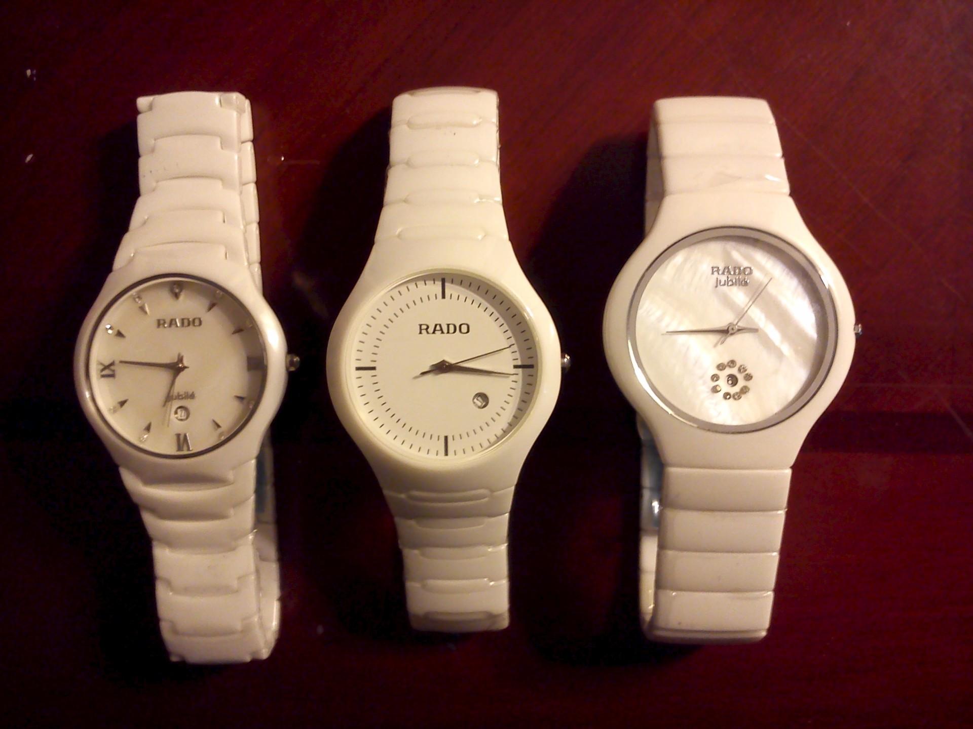 Копии швейцарских часов Rado Ceramica Jubile White 5350931