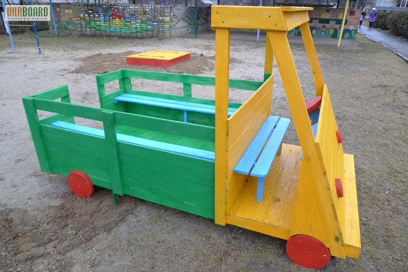 Машинки для детской площадки фото