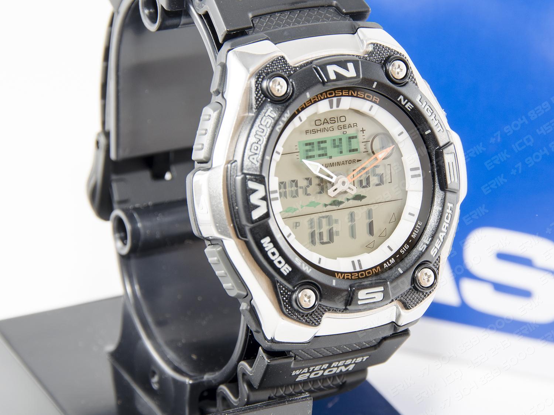 часы для рыбалки и охоты с компасом наручные