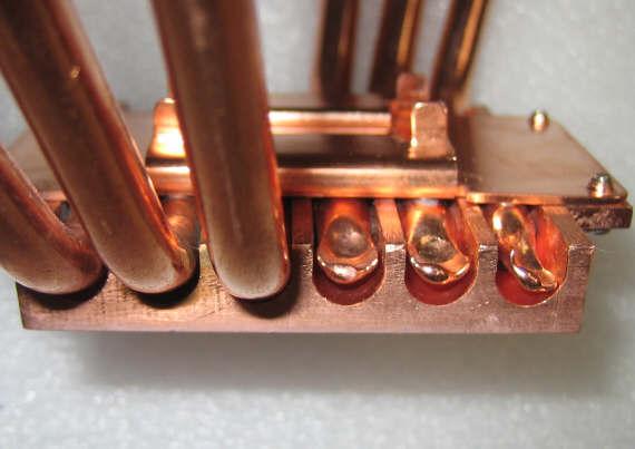 Кулер на тепловых трубках