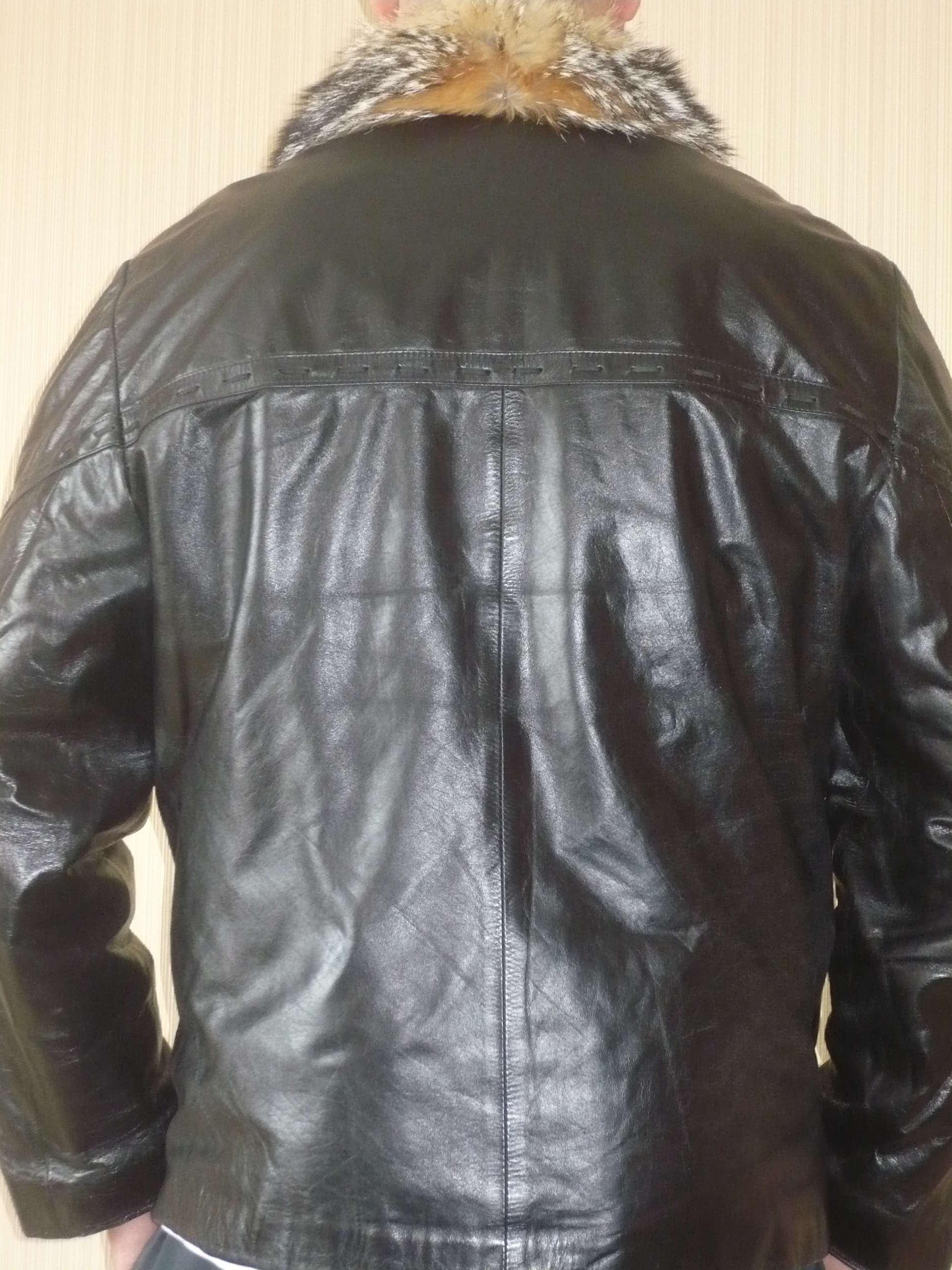 Кожаная Куртка На Волчьем Меху Купить