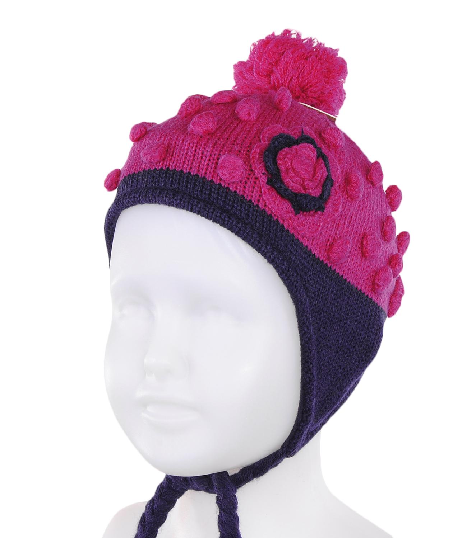 Зимние шапки для девочек 7