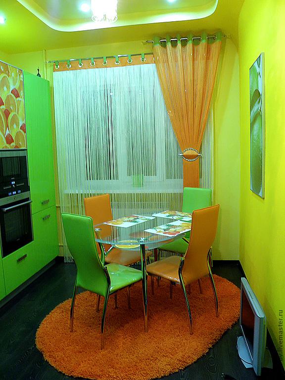 Купить шторы на кухню. . Фото штор для кухни - магазин ELEGA…