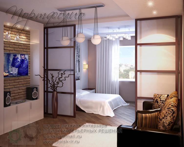 Дизайн комнаты 17 кв м с балконом фото