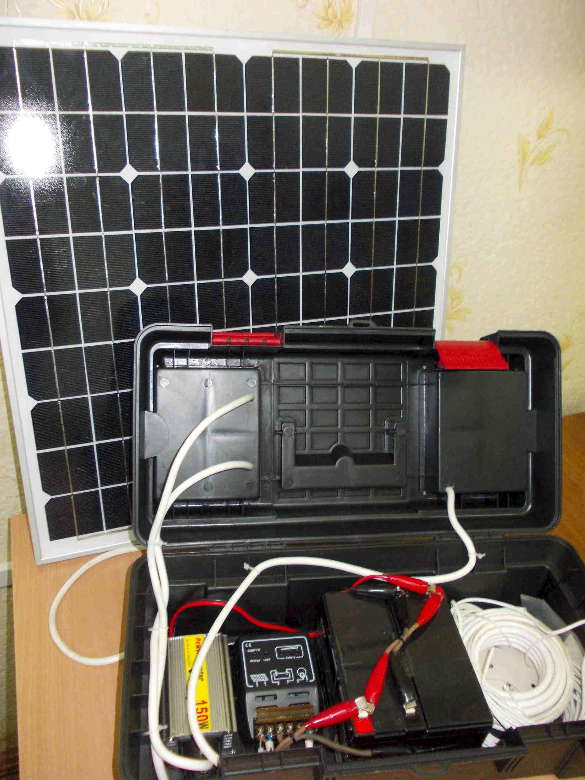 Изготовление солнечные панели своими руками