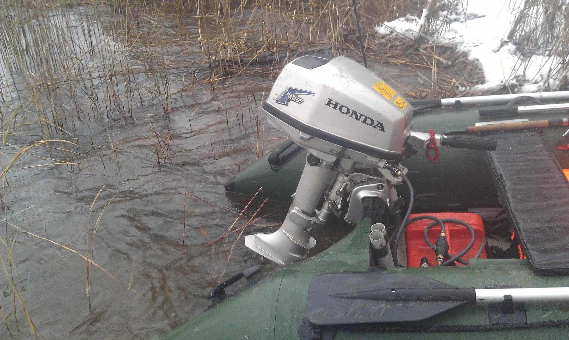 лодочный мотор хонда б у в москве