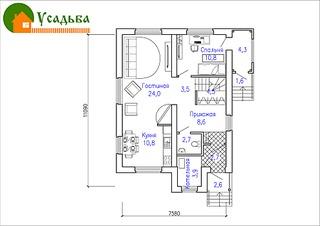 990 X 700 208.7 Kb Проекты уютных загородных домов