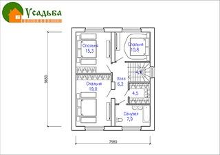 990 X 700 188.1 Kb 990 X 700 208.7 Kb Проекты уютных загородных домов