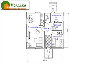 990 X 700 149.6 Kb Проекты уютных загородных домов