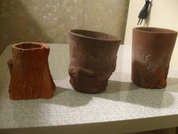Глиняные горшки своими руками