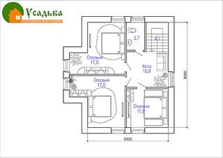 990 X 700 144.5 Kb 990 X 700 147.6 Kb Проекты уютных загородных домов