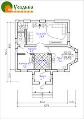 700 X 990 179.6 Kb Проекты уютных загородных домов