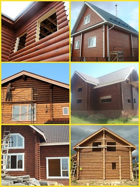768 X 1024 708.7 Kb Отделка деревянных домов: шлифовка, покраска, конопатка, теплый шов (Фото).