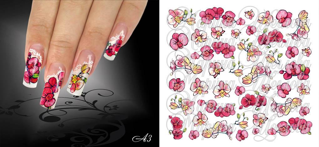Дизайн пленки для ногтей