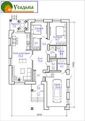 700 X 990 251.5 Kb Проекты уютных загородных домов