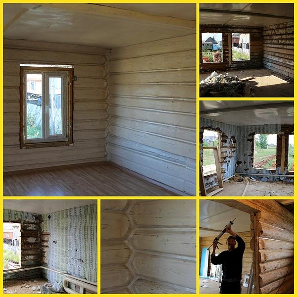 1024 X 1024 731.5 Kb Отделка деревянных домов: шлифовка, покраска, конопатка, теплый шов (фото).