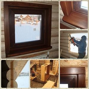 1024 X 1024 767.1 Kb Отделка деревянных домов: шлифовка, покраска, конопатка, теплый шов (фото).