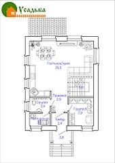 700 X 990 183.8 Kb Проекты уютных загородных домов