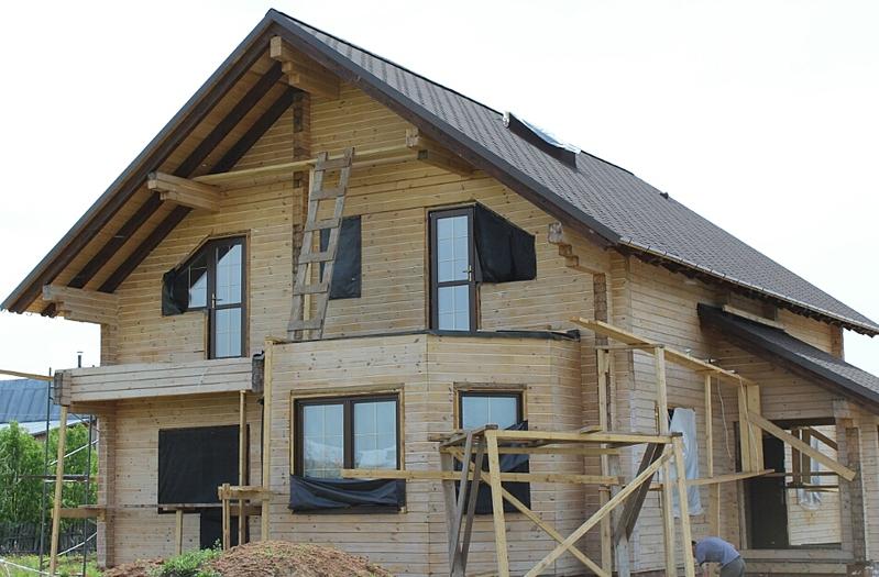 944 X 620 357.7 Kb Отделка деревянных домов: шлифовка,покраска,конопатка,теплый шов (фото).