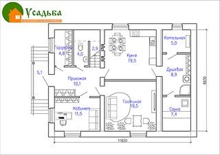 990 X 700 186.4 Kb Проекты уютных загородных домов